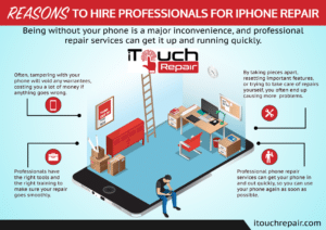 Reasons to Hire Professionals for iPhone Repair