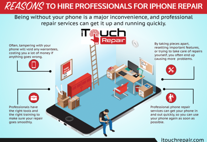 Reason to Hire Professionals for iPhone Repair